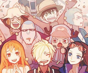 chopper, one piece, and luffy image