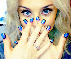 little mix, perrie edwards, and nails image