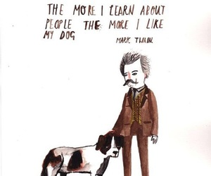 quotes, dog, and people image