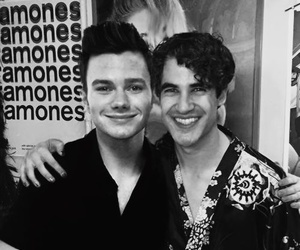 darren criss, chris colfer, and Hedwig and the angry inch image