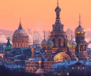 russia and travel image