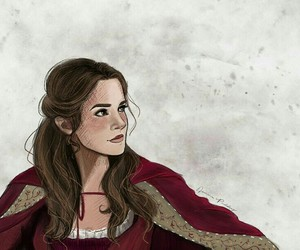 beauty and the beast, emma watson, and repost image