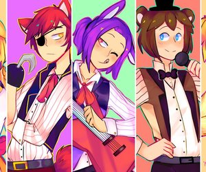 girl, fnafhs, and Bonnie image
