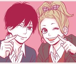 orange, manga, and manga girl image