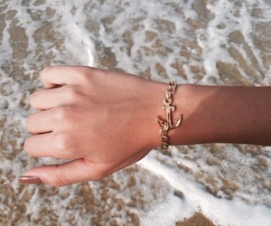 beach, hands, and lovely image