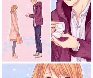 couple, cute couple, and kawaii image