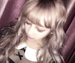 girl, hair, and japanese image