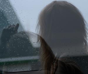 double, exposure, and rain image