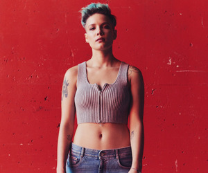 halsey and red image