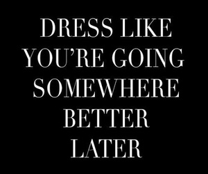 quote and dress image