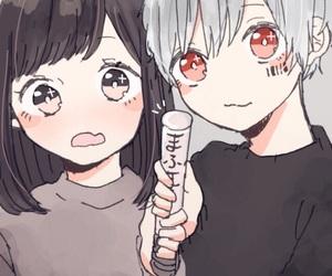 anime and anime couples image