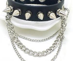 bracelet, punk, and fashion image