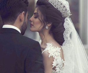 wedding, couple, and حُبْ image