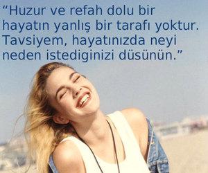 yaz, mutluluk, and türkçe sözler image