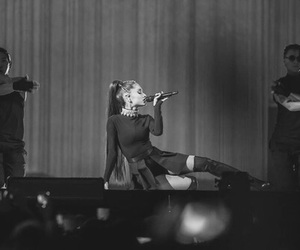 bw, dangerous woman tour, and goals image