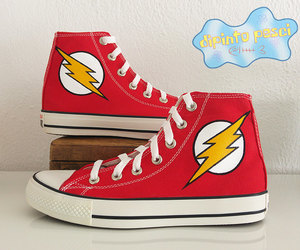 converse, custom shoes, and etsy image