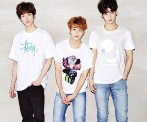 k-pop, sanha, and jinjin image
