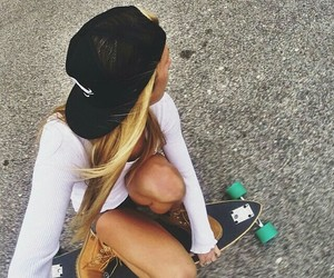 beauty, cool, and skate image