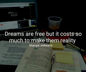 quote, Dream, and motivation image