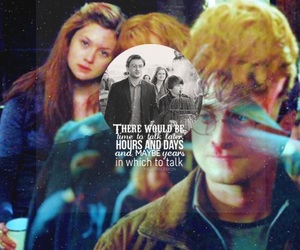 harry potter, ginny, and love image