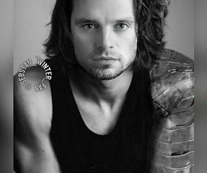 handsome, buckybarnes, and Hot image