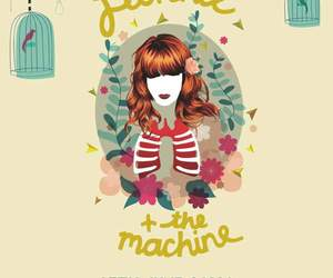 bon iver, florence, and florence and the machine image