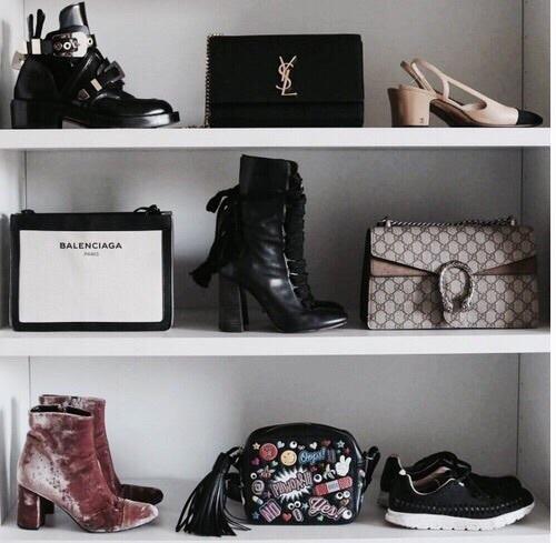 bag, fashion, and closet image