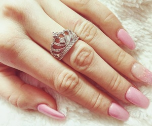 crown, ring, and nails image
