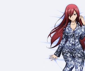 anime, erza, and manga image