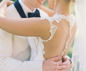 beauty, boy, and bride image