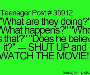 movie, teenager post, and funny image