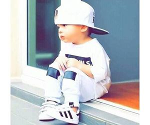 baby, adidas, and style image
