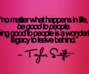 quote, Taylor Swift, and pink image