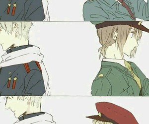 anime, art, and hetalia image