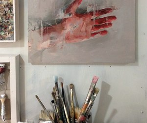 art, aesthetic, and hand image