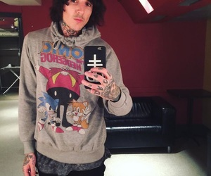 oliver sykes and bring me the horizon image