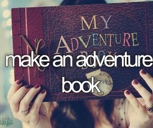 adventure, book, and bucket list image