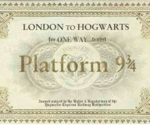 harry potter, platform 9 3 4, and london image
