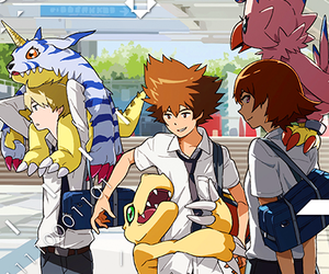 anime, digimon adventure tri, and digimon image
