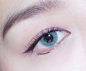 eye, girl, and korean image