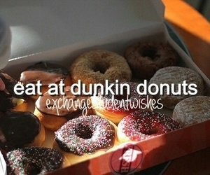 donuts, food, and america image