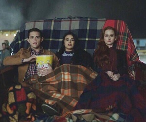 riverdale, cheryl blossom, and camila mendes image