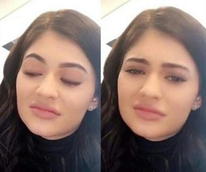 meme, reaction, and kylie jenner image