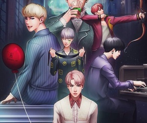 bts, kpop, and fanart image