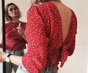 indie, blouse, and fashion image