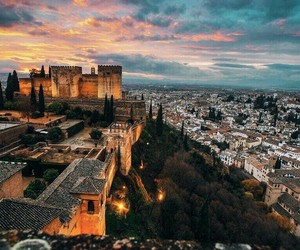 Alhambra, awesome, and beautiful image