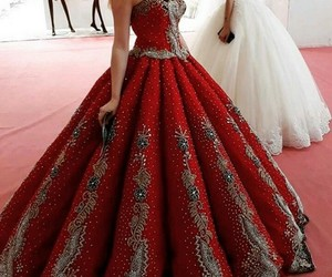 fashion, beautiful, and gown image