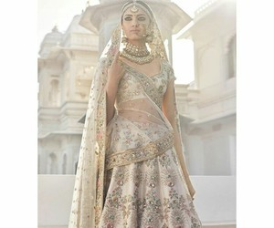 beige, bride, and fashion image