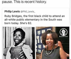 black women, black history, and ruby bridges image