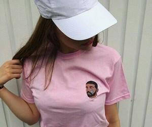 Drake, pink, and tumblr image